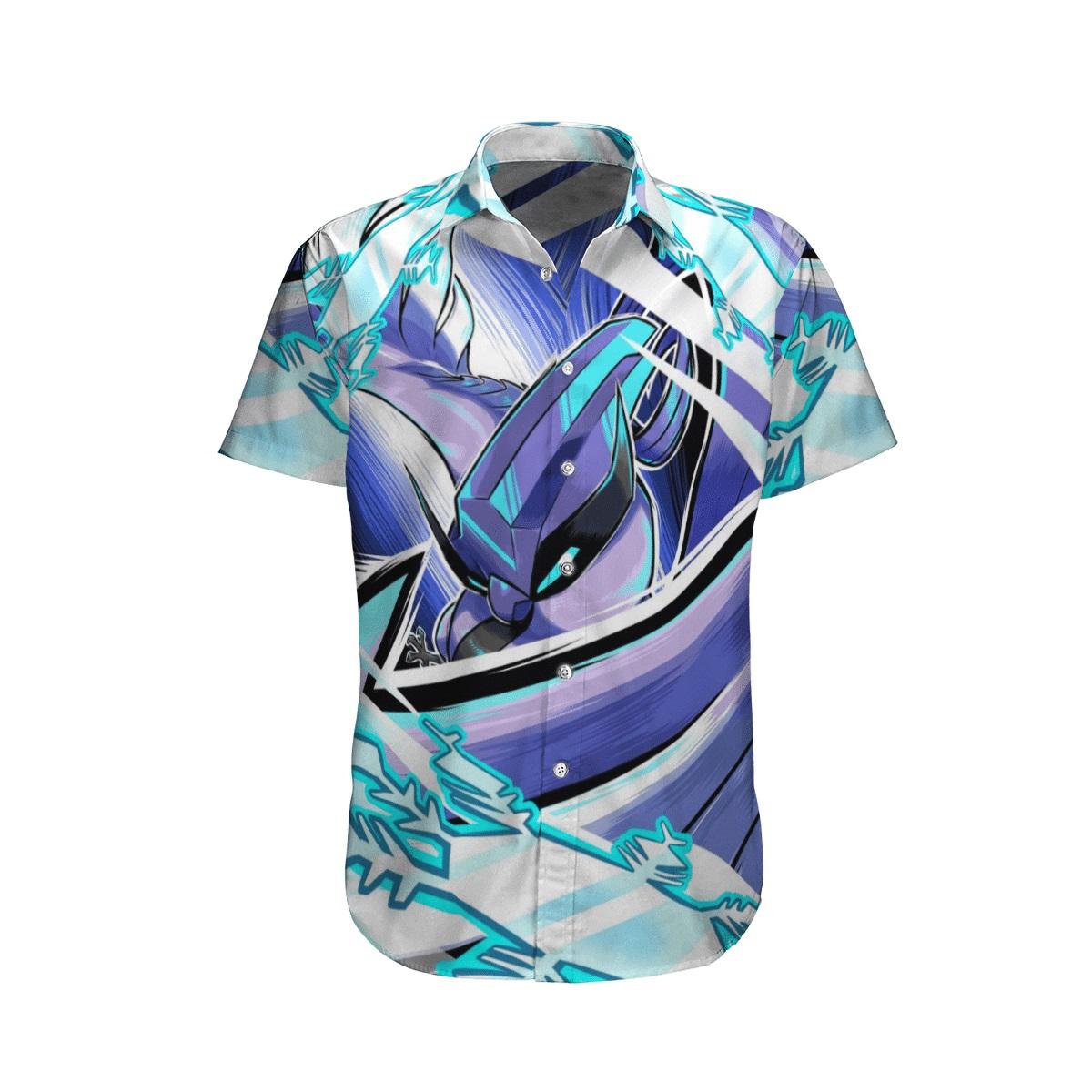 Articuno pokemon hawaiian shirt