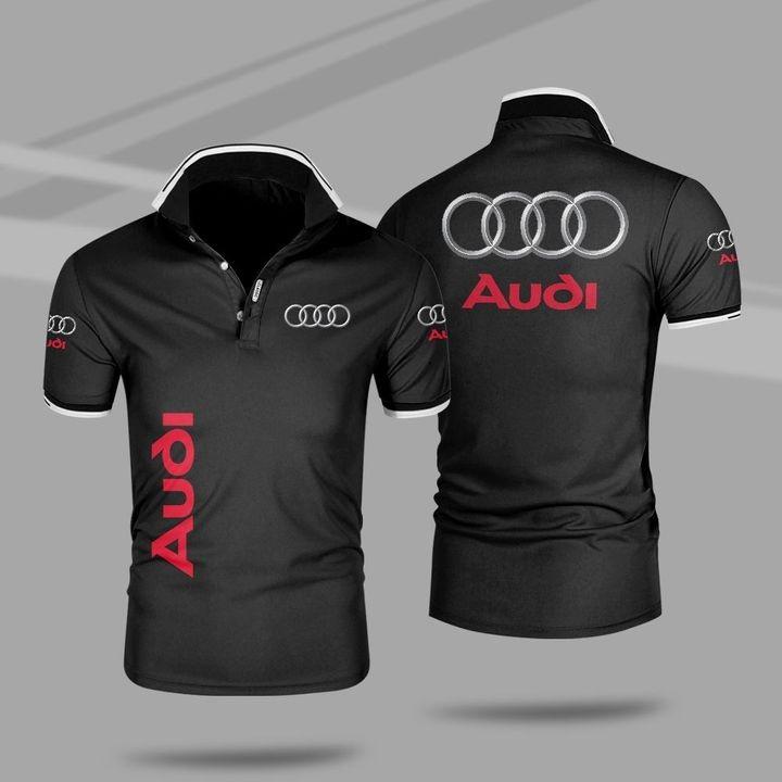 Audi 3d polo shirt