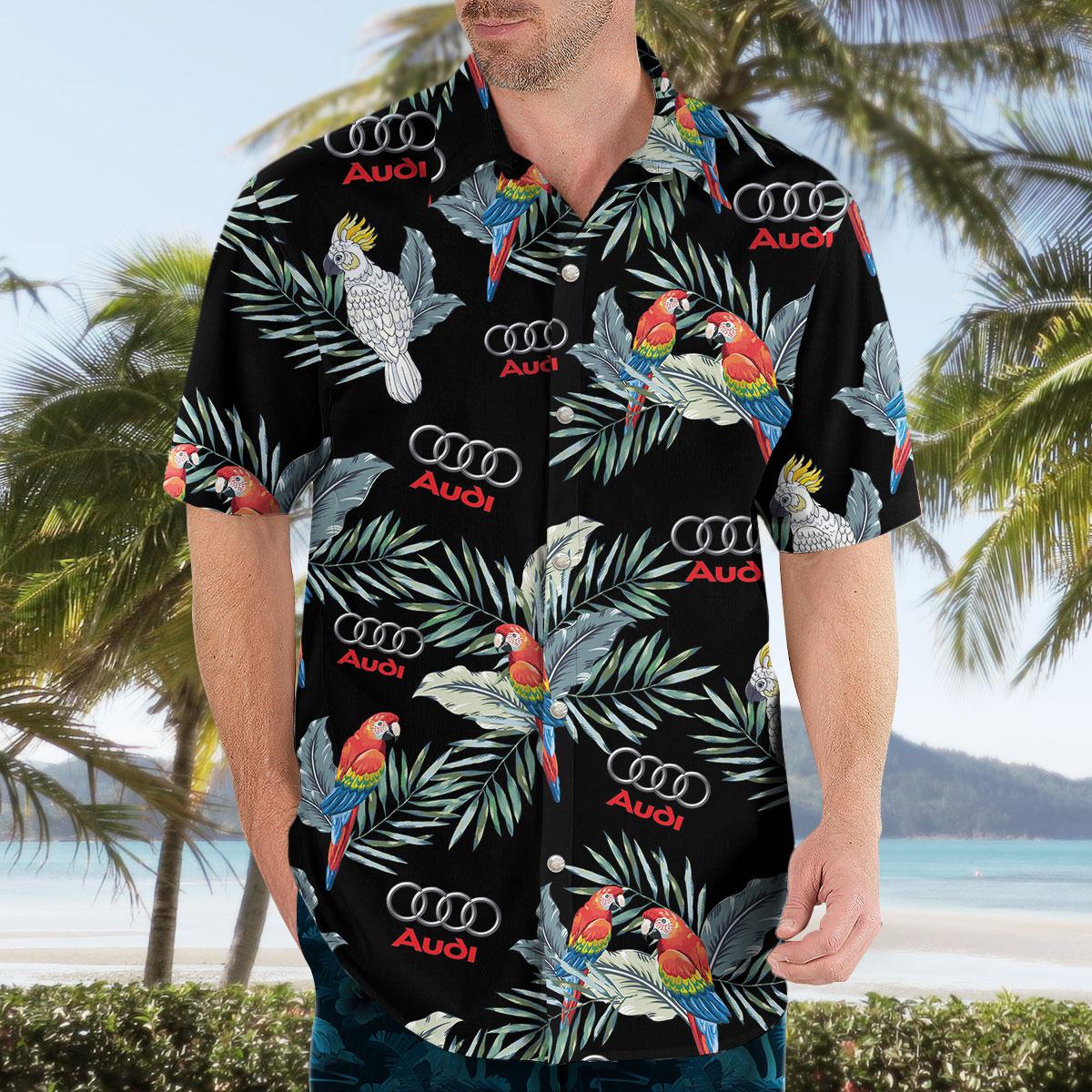 Audi Aloha Shirt Hawaiian Shirt
