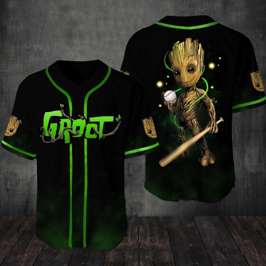 Baby Groot Baseball Jersey Shirt