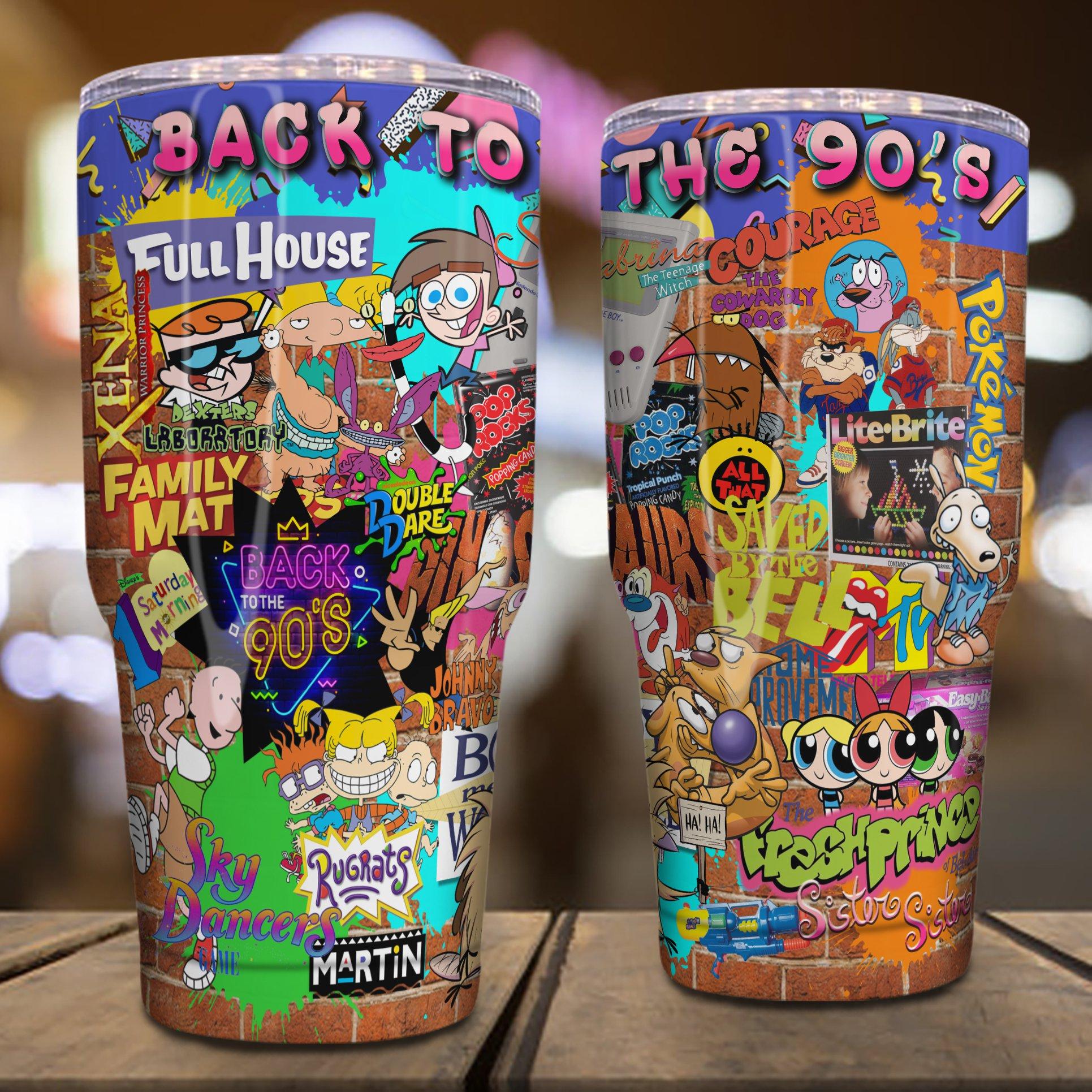 Back to the 90s cartoon tumbler