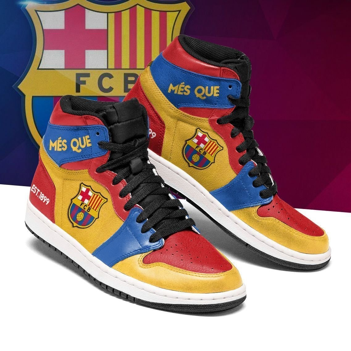 Barcelona jordan sneakers shoes