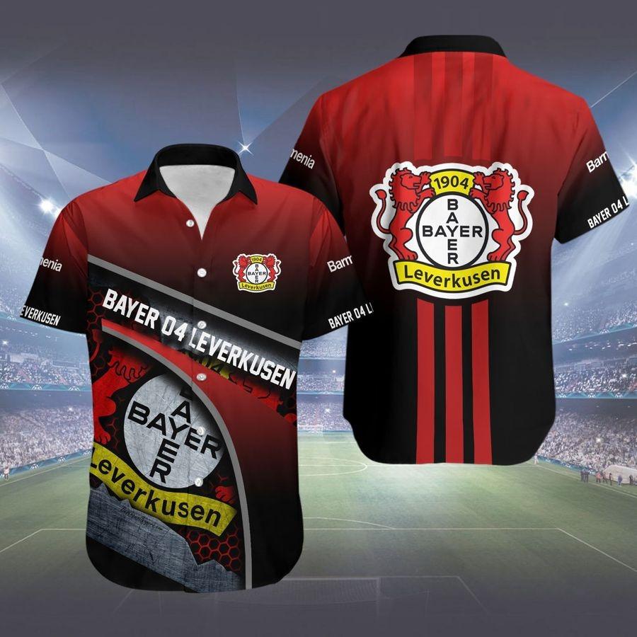 Bayer 04 Leverkusen hawaiian shirt