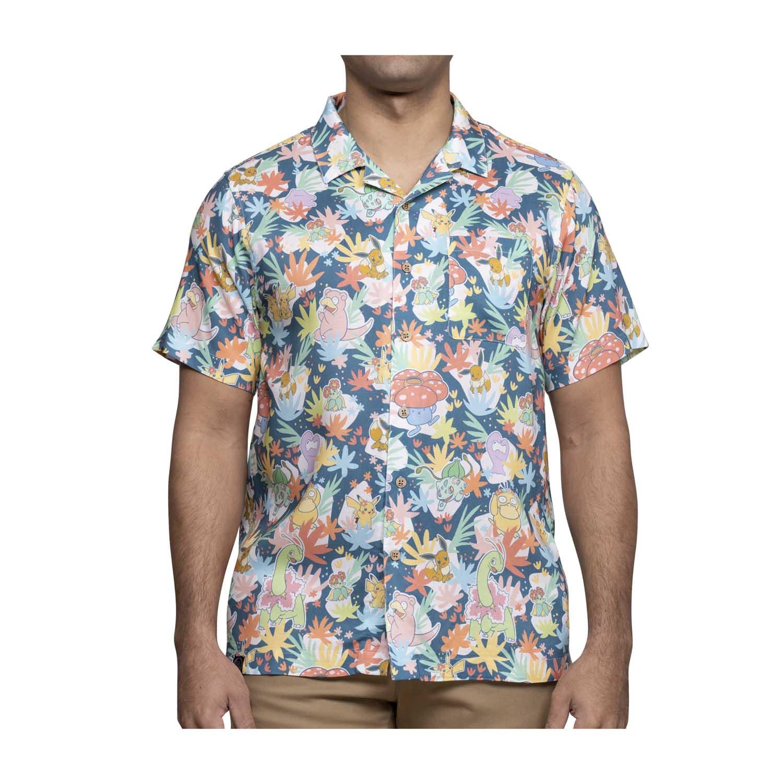 Blossoming Friendships Pokémon Tropical Hawaiian Shirt
