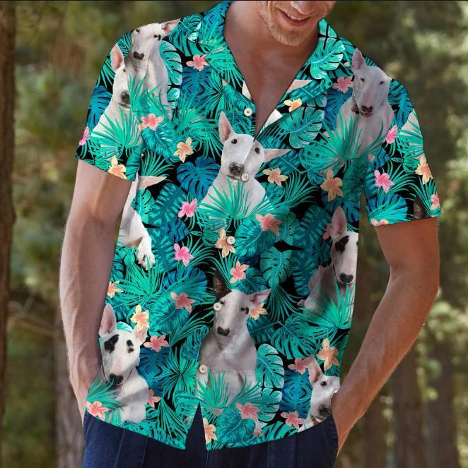 Bull terrier hawaiian shirt2