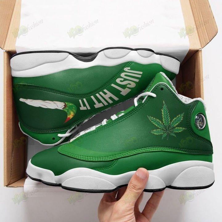Cannabis Just Hit It Air Jordan 13 Shoes Sneaker