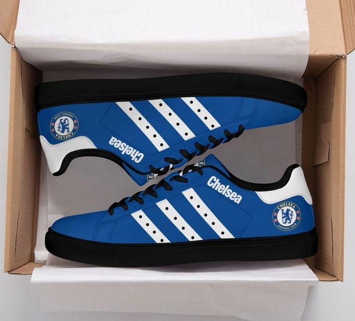 Chelsea Stan Smith Shoes Blue Version