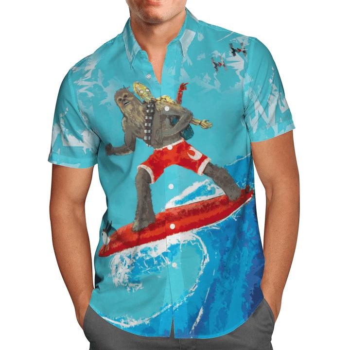 Chewie Hawaiian shirt