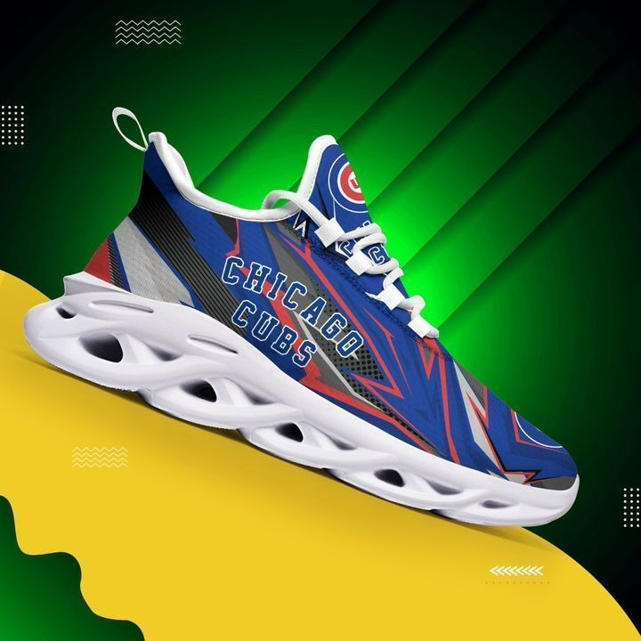 Chicago Cubs Max Soul Running Sneakers
