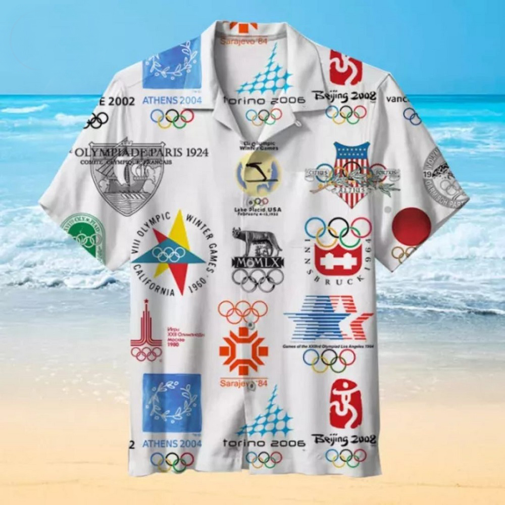 Classic Olympic Games Hawaiian Shirt