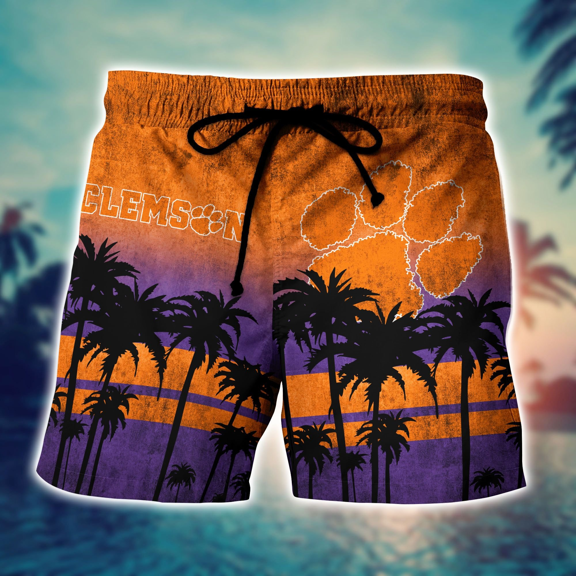 Clemson Tiger NCAA1 Hawaiian Shirt And Short - LIMITED EDITION