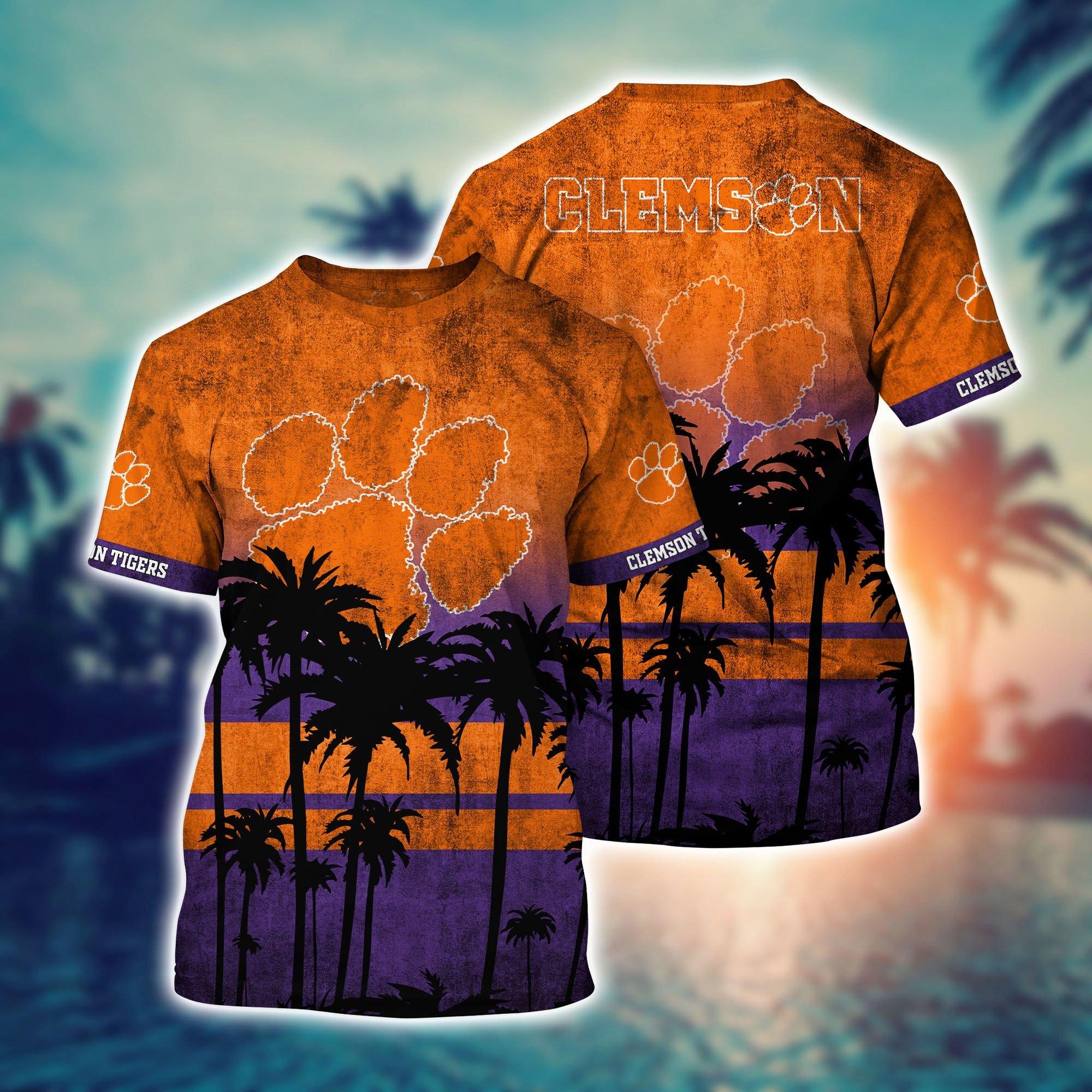 Clemson Tiger NCAA1 3D T Shirt - LIMITED EDITION
