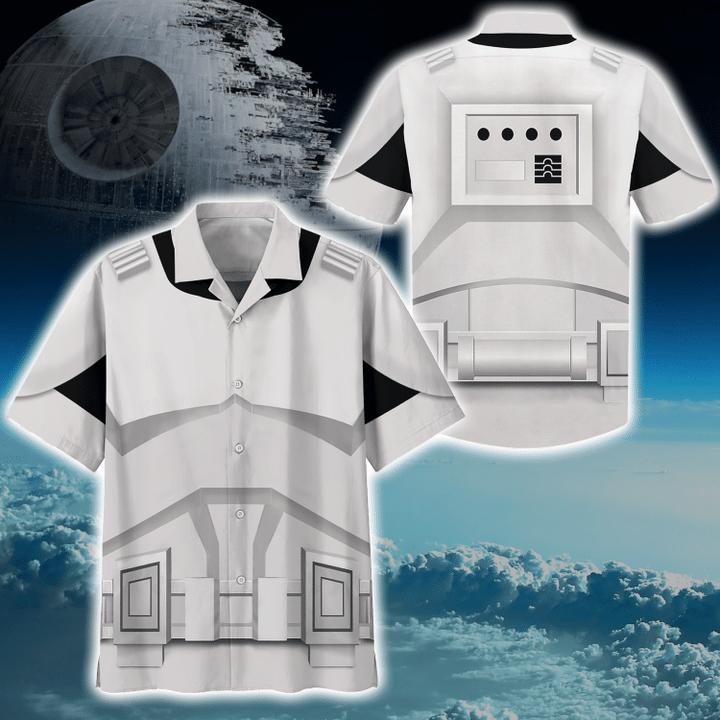 Cosplay star wars stomstroper hawaiian shirt
