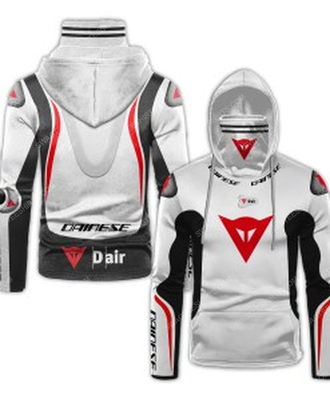 Custom name dainese racing motorcycle full print mask hoodie 1(1)