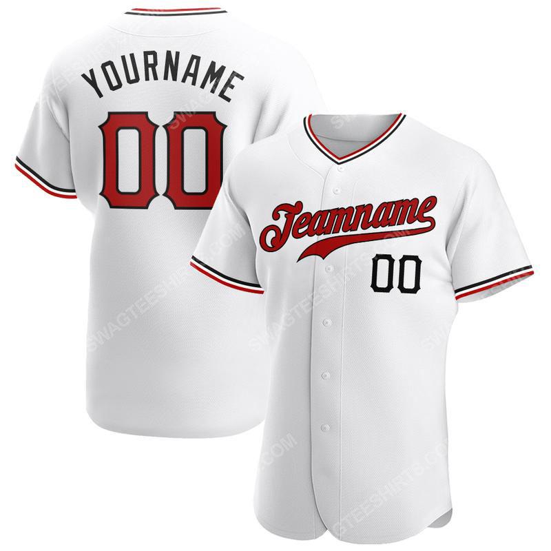 Custom name the cincinnati reds logo full printed baseball jersey