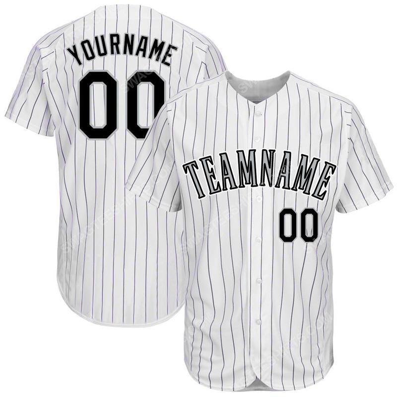 Custom name the colorado rockies full printed baseball jersey