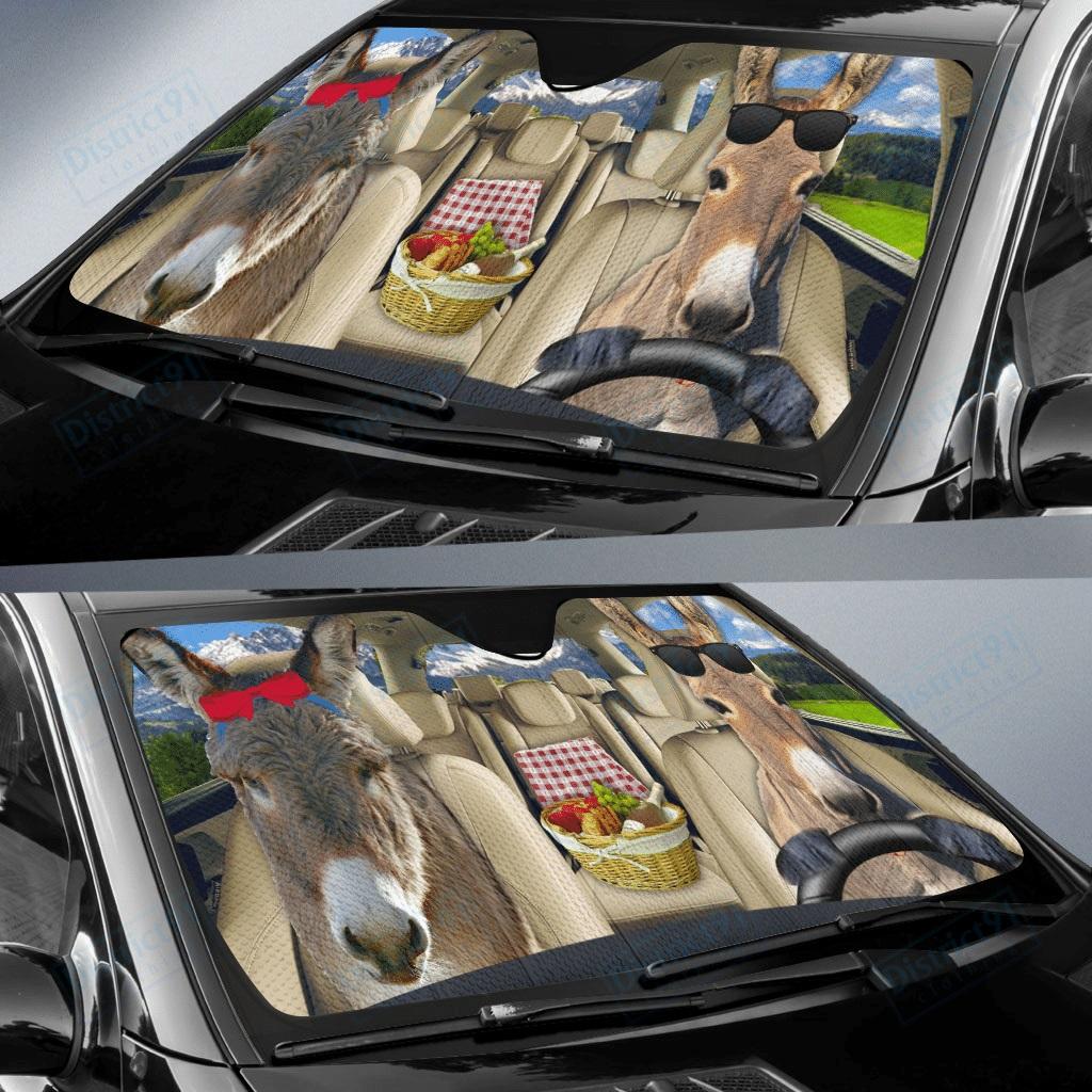 Donkey car sunshade - Picture 1