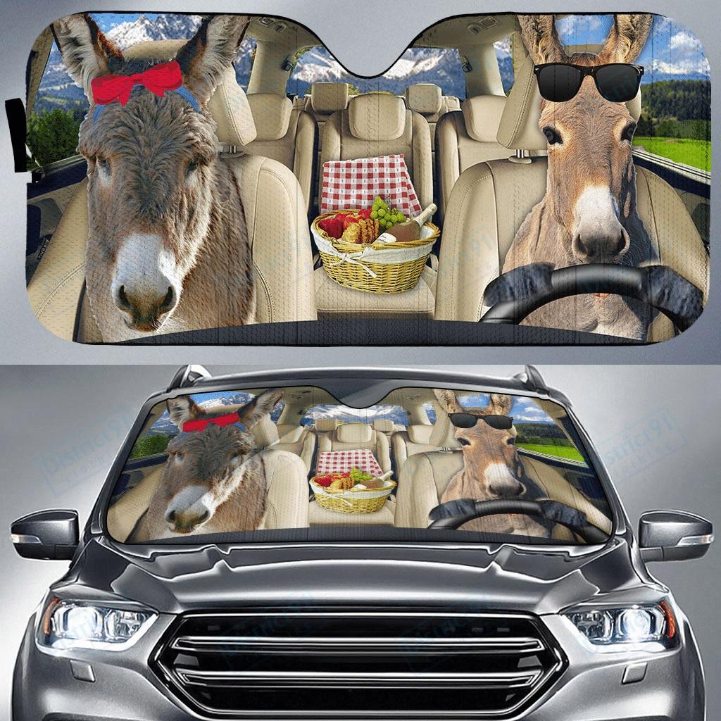 Donkey car sunshade