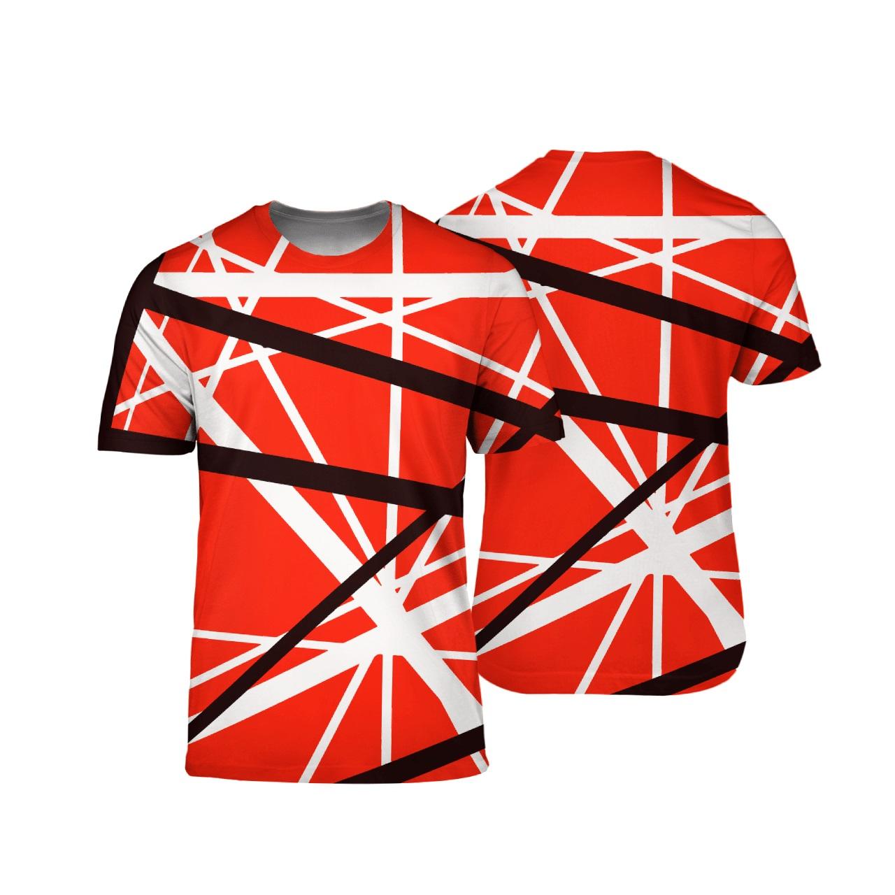 Eddie van halen 3d t-shirt
