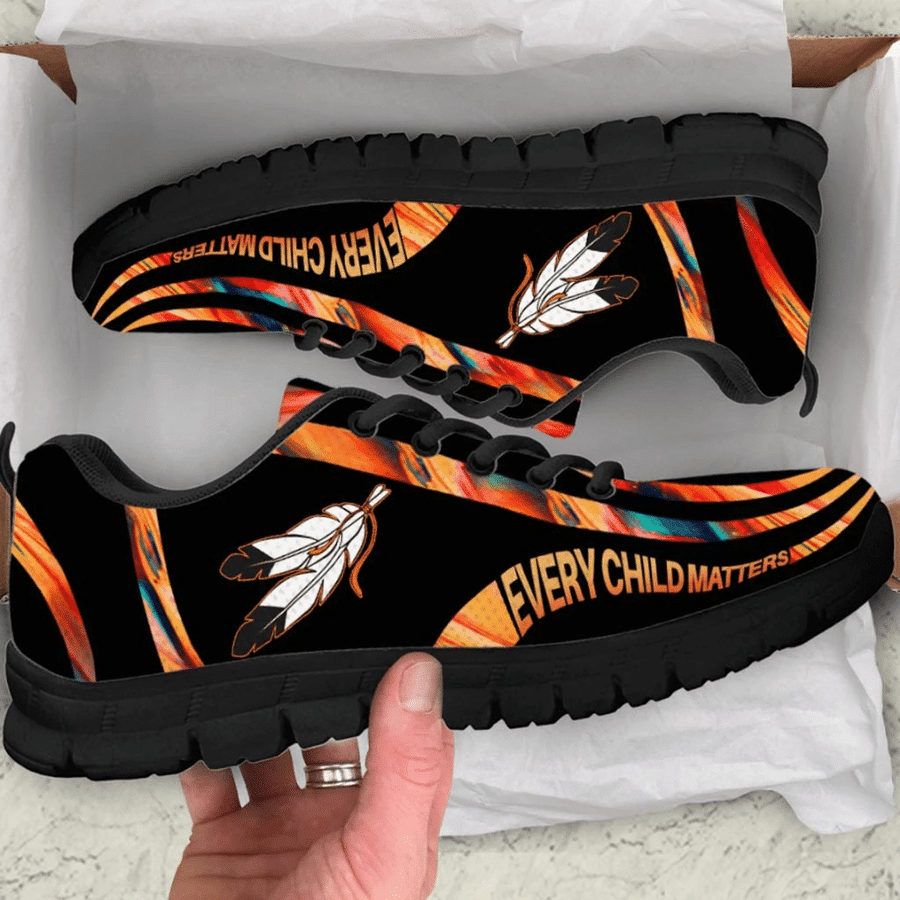 Every child matters native american sneaker