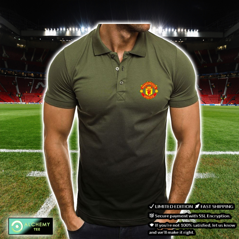 FC Manchester United Gradient Polo Shirt 2