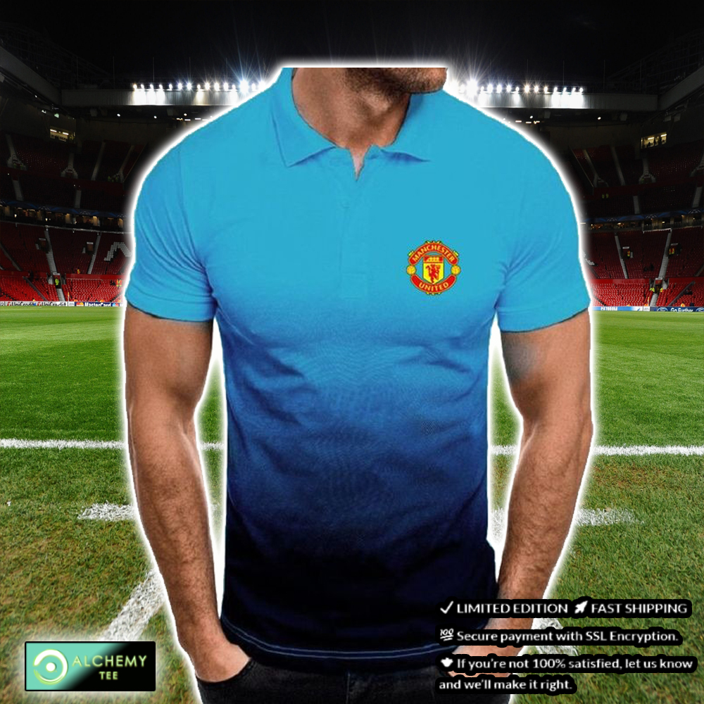 FC Manchester United Gradient Polo Shirt - Hothot 030821