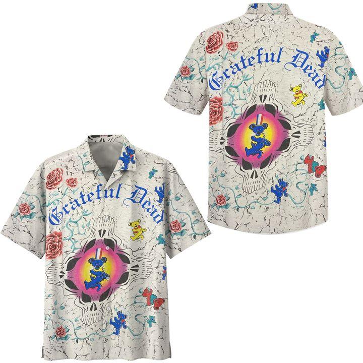 Grateful dead vintage hawaiian shirt
