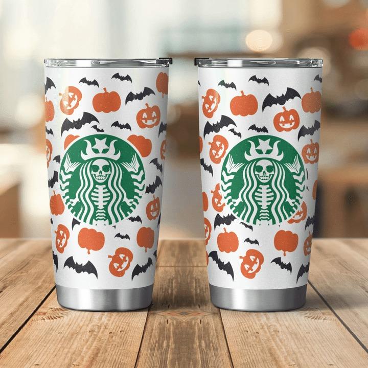 Halloween Starbucks Steel Tumbler