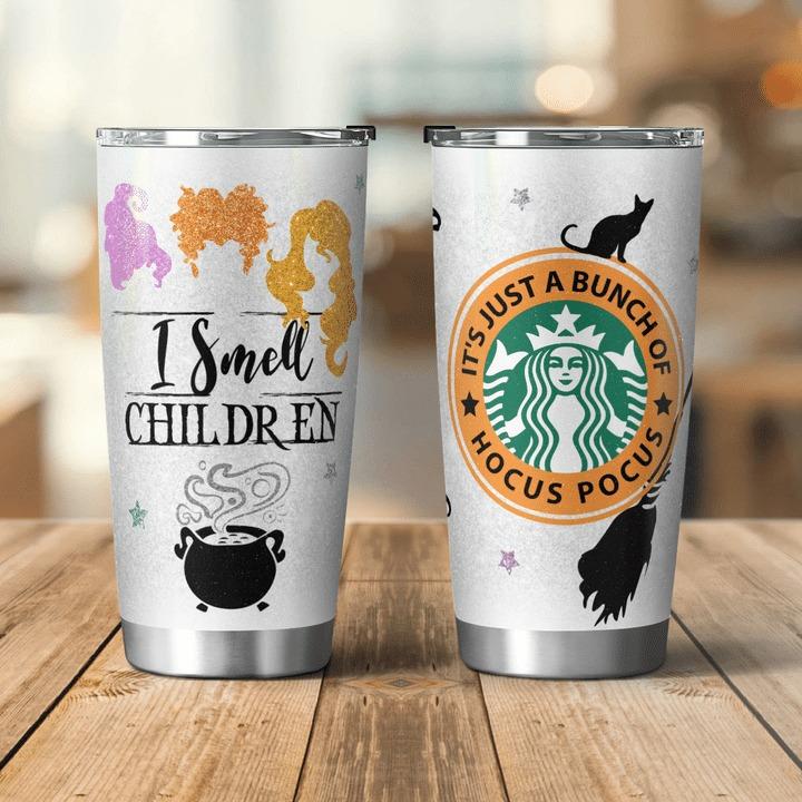 Hocus Pocus I Smell Children Starbucks Insulated Tumbler