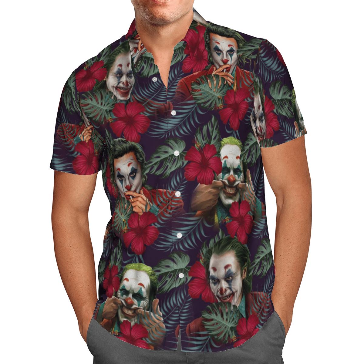 Joker Hawaiian shirt and short