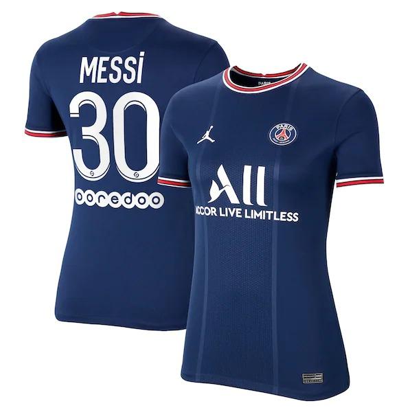 Lionel Messi Paris Saint-Germain Home Kit 2021 2022