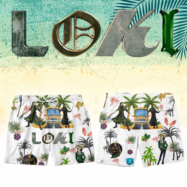 Loki hawaiian short