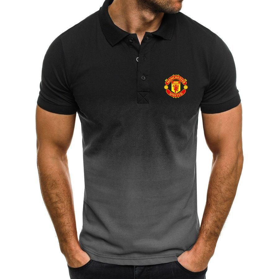 Manchester United gradient polo shirt - Picture 1