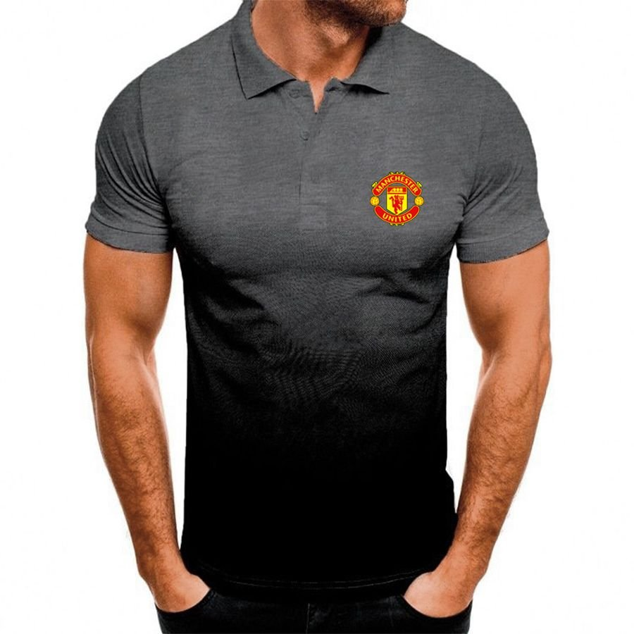 Manchester United gradient polo shirt - Picture 3
