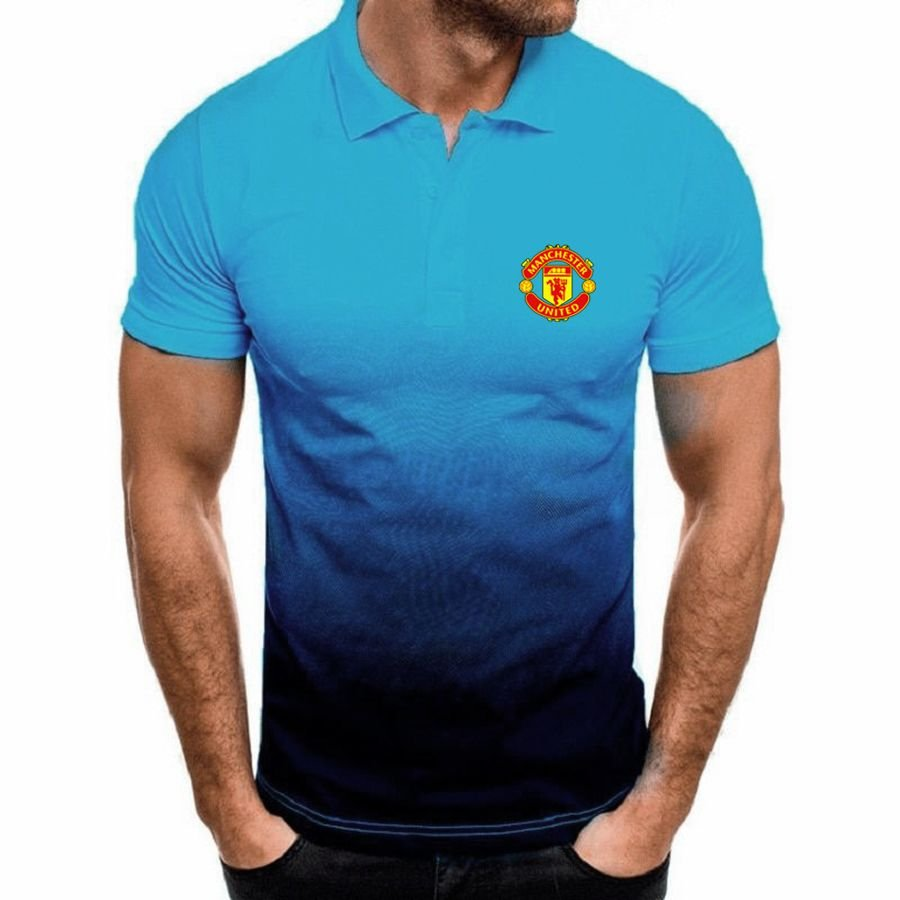 Manchester United gradient polo shirt - Picture 4