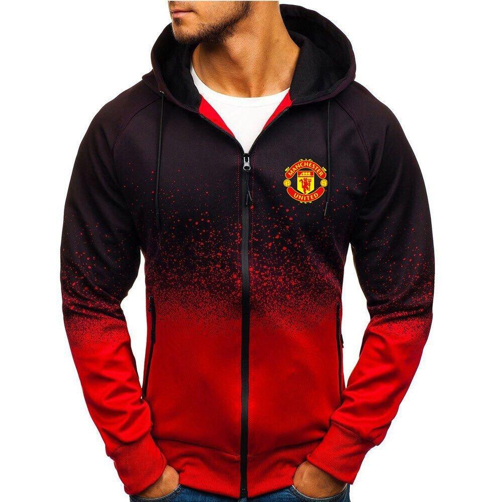 Manchester United gradient zip hoodie