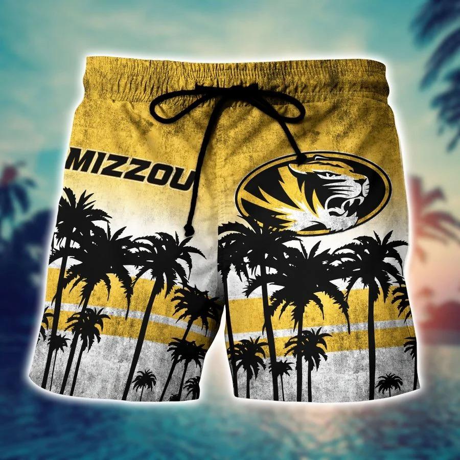 Missouri Tigers Ncaa hawaii Shirt And Shorts - BBS