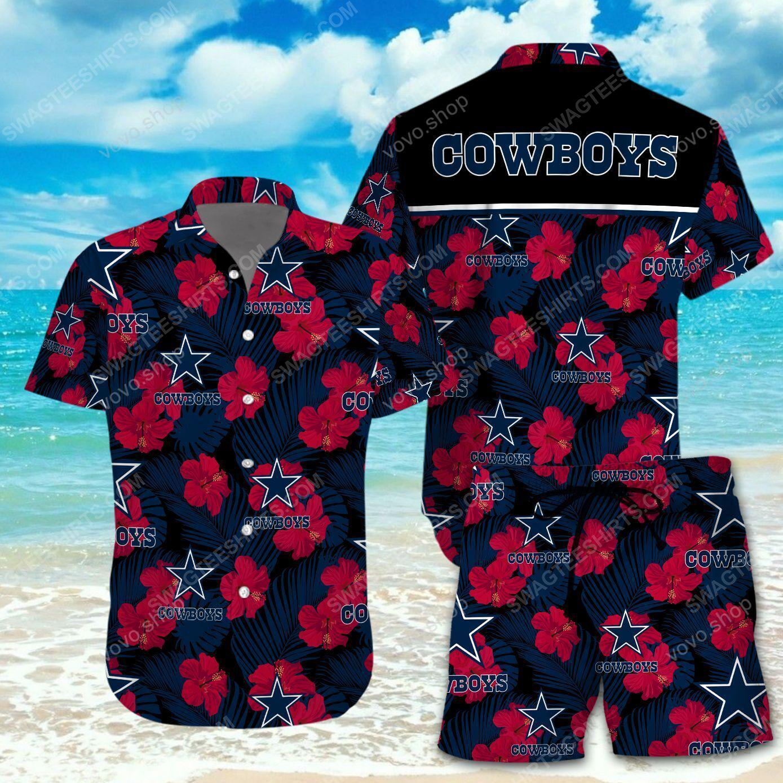 National football league dallas cowboys printing hawaiian shirt