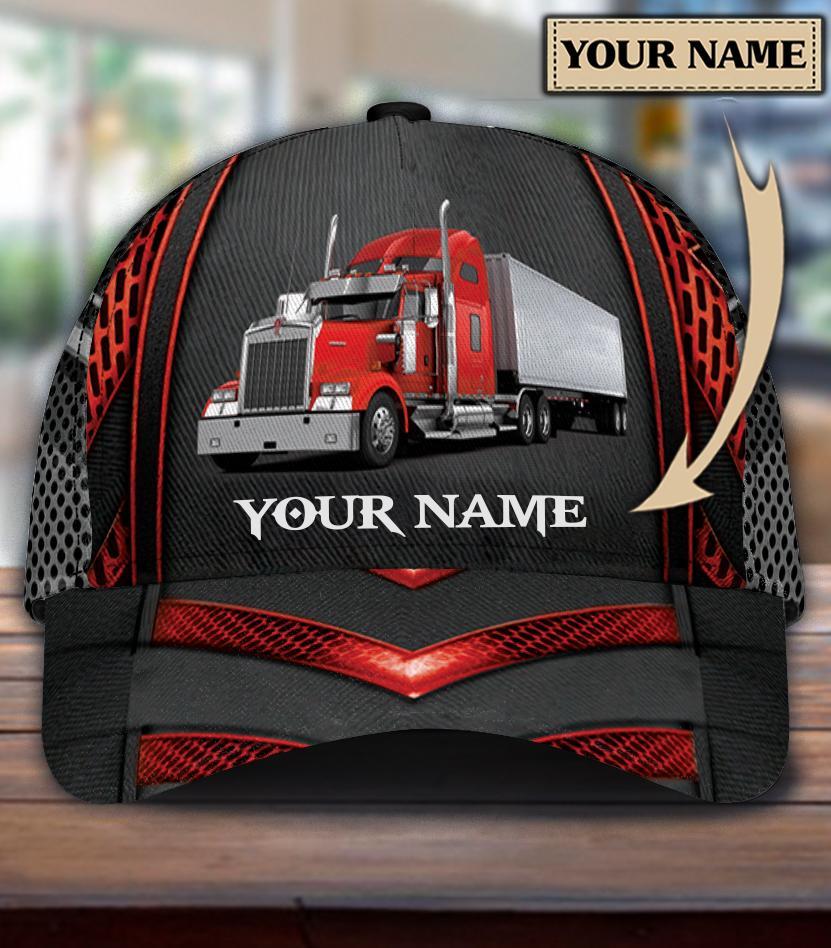 Personalized Trucker Truck classic cap