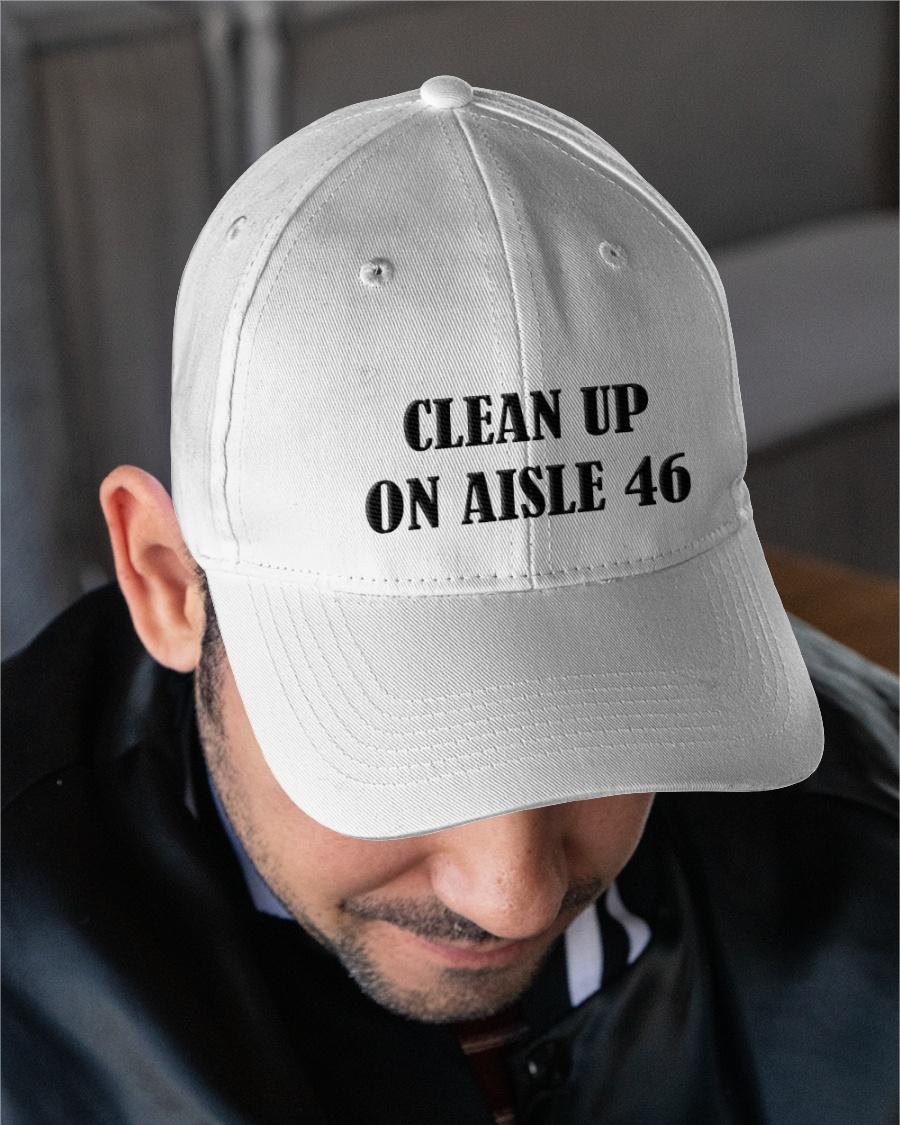 Politics clean up on aisle 46 cap