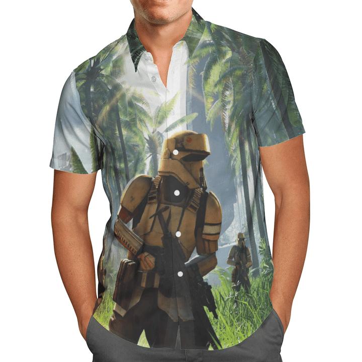 Shoretrooper tropical Hawaiian shirt