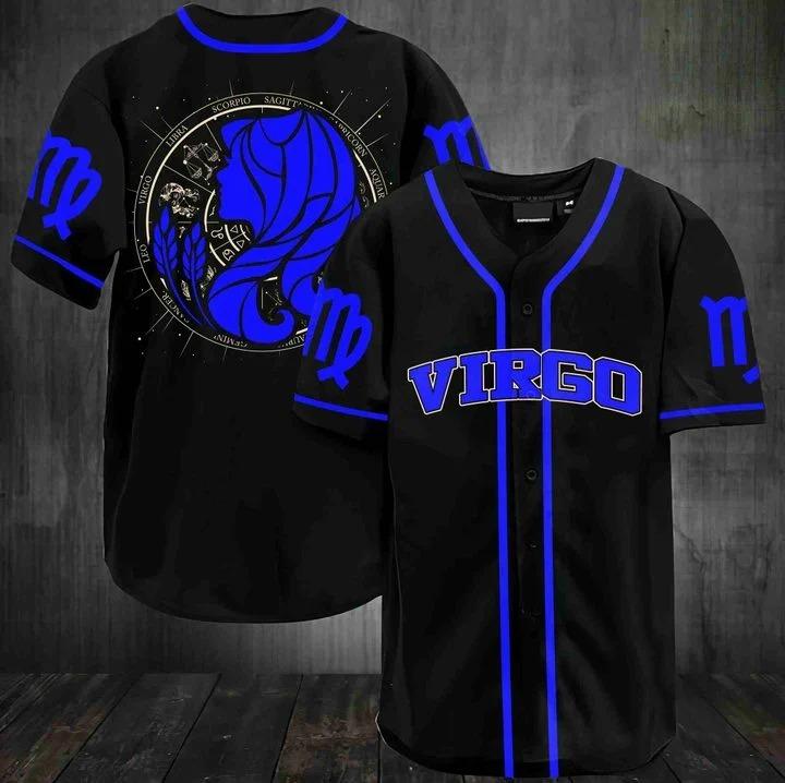Stunning zodiac virgo baseball jersey