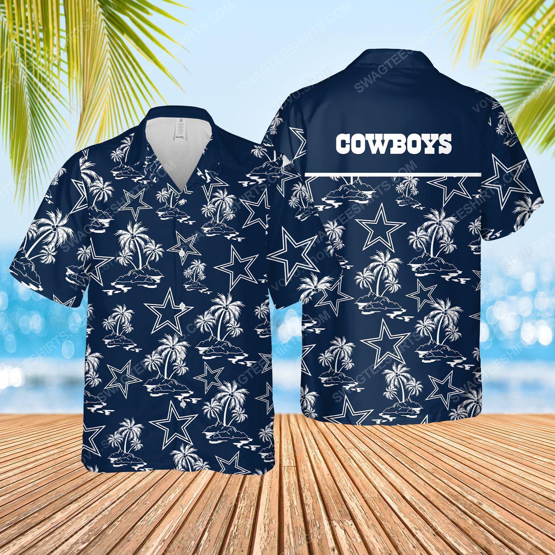 The dallas cowboys full printed hawaiian shirt
