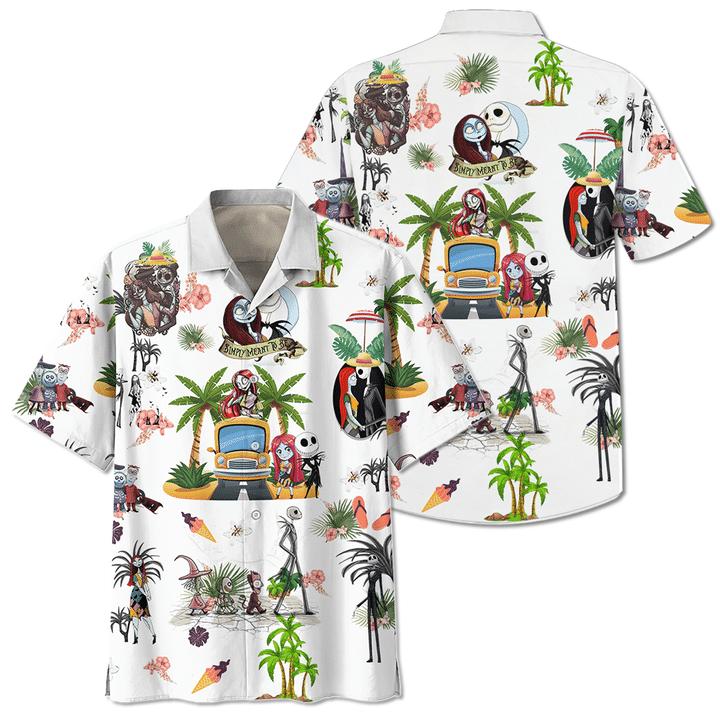 The nightmare before christmas hawaiian shirt
