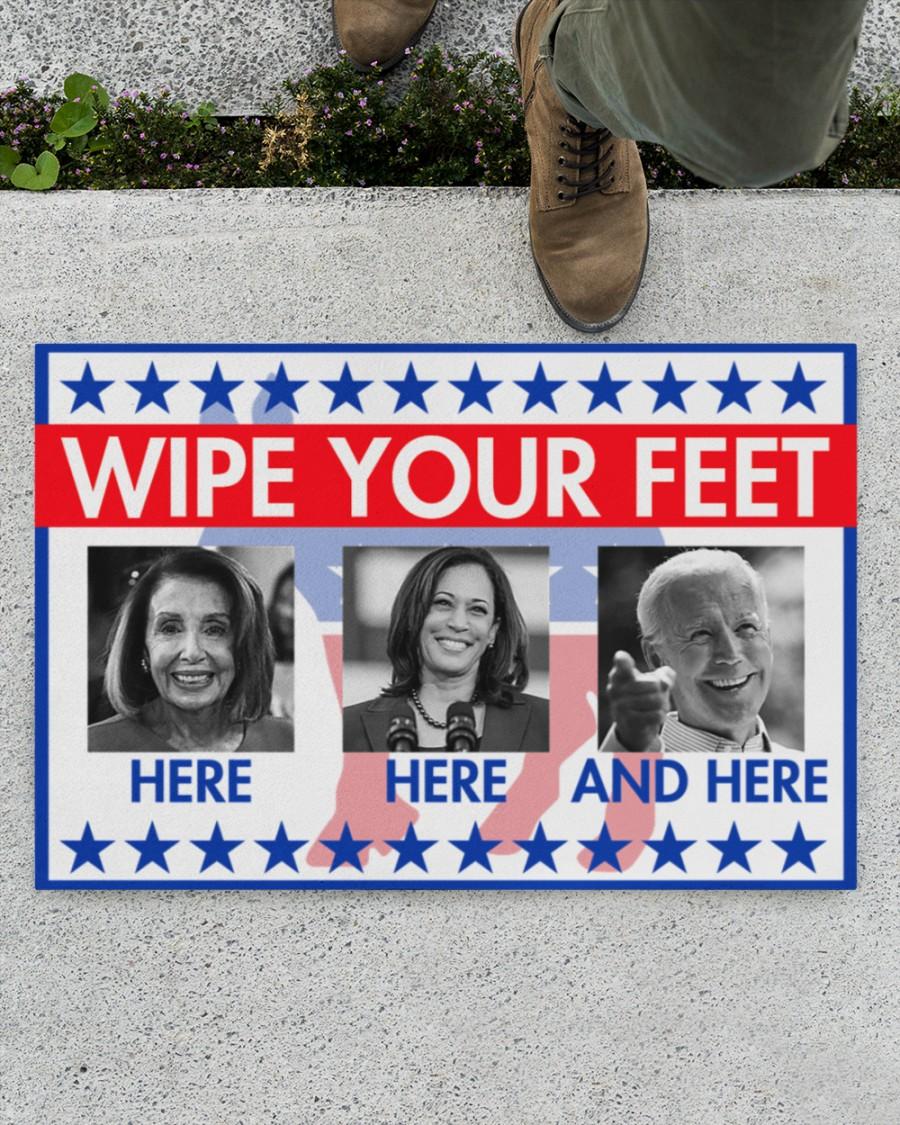 Wipe your feet here Joe Biden doormat 1