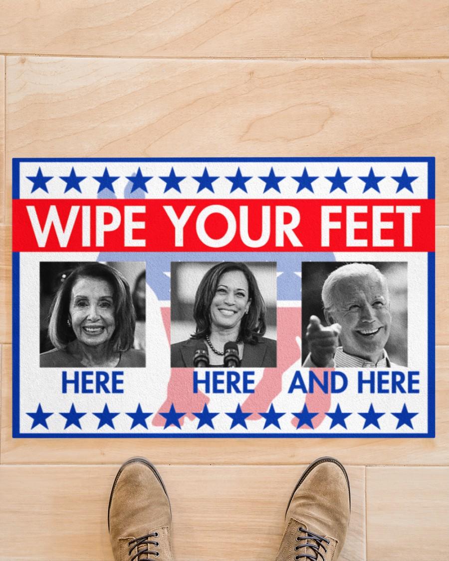 Wipe your feet here Joe Biden doormat 2