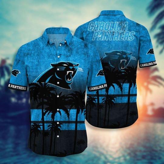 Carolina panthers NFL hawaii shirt short - BBS