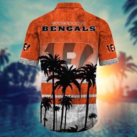 Cincinnati bengals NFL hawaii shirt short - BBS