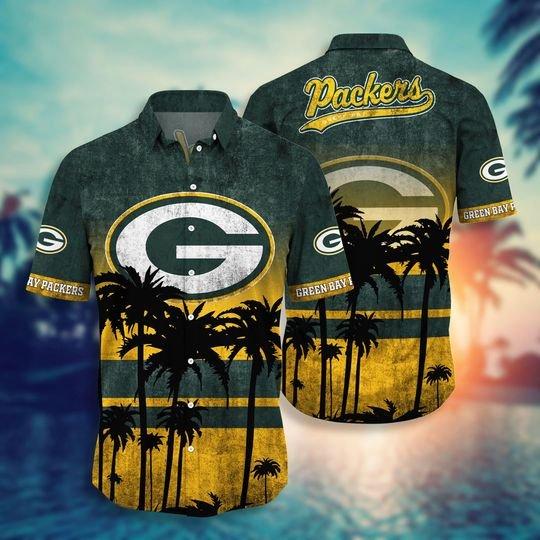 Green bay packers NFL hawaii shirt short - BBS