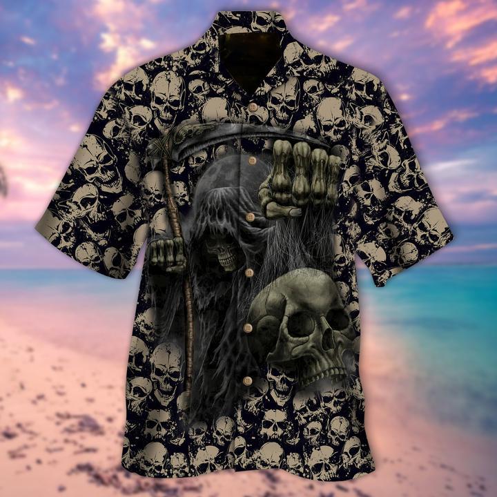 The Grim Reaper Hawaiian Shirt - LIMITED EDITION